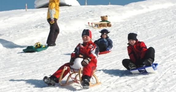 Kinderrodelhang am Langlaufstadion