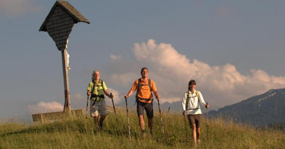 Wandern auf der Winklmoos-Alm Reit im Winkl